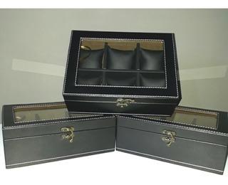 Oferta X 3 Estuches Relojes- Oferta Exclusiva.máxima Calidad