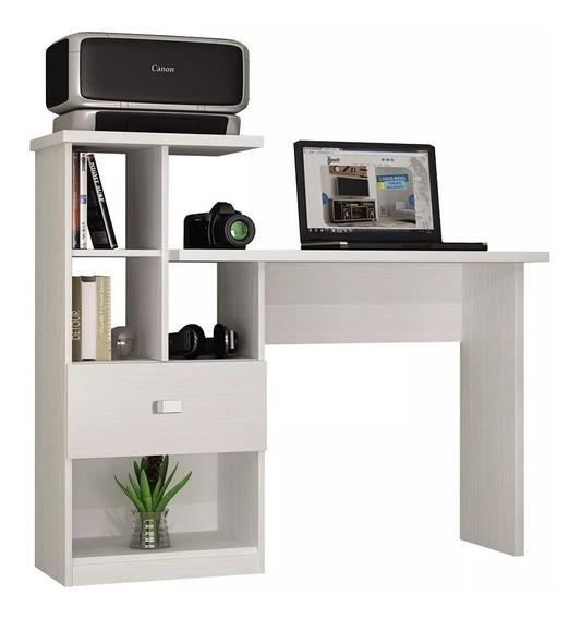 Escrivaninha Mesa Computador E Notebook Estudo Frete Grátis