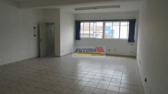 Sala Comercial No Centro/sv Com Banheiro (41,58 M2) - Sa0027