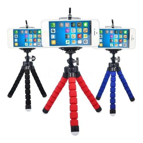Tripode Con Base Okystar Para Telefono Camara Flexible