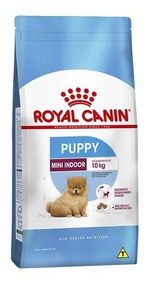 Ração Royal Canin Mini Indoor Junior Filhote Amb. Int. 7,5kg