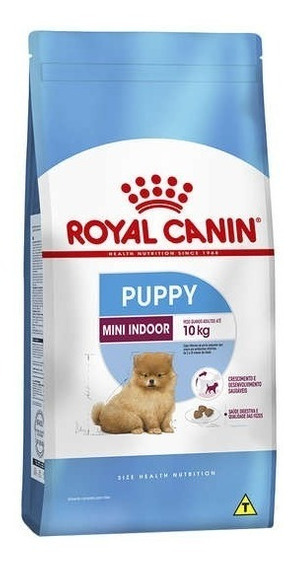 Ração Royal Canin Mini Indoor Junior Filhotes 7,5 Kg