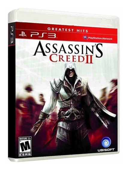 Assassins Creed Ii 2 - Jogo P/ Ps3 Original - Midia Fisica