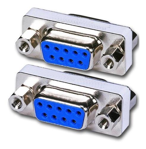 Copla Adaptador Serial Rs232 Hembra Hembra Db9 Para Extensio