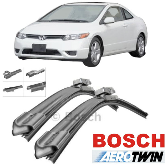 Palhetas Bosch Aerotwin Plus Honda New Civic 06 A11 Ap 26/24