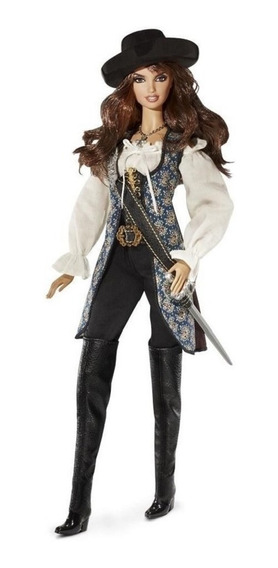 Barbie 2010 Angelica Piratas Do Caribe Collector