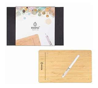 Viewsonic Woodpad - Tableta De Dibujo De 10 Pulgadas Con 409