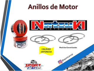 Anillos Renault 11 - Ford Corcel Del Rey Std 010 020 030 040