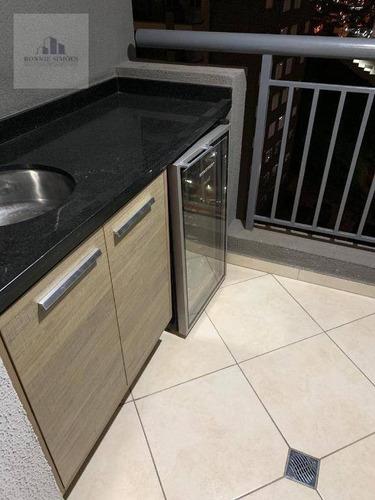 Apartamento À Venda, 55 M² Por R$ 380.000,00 - Morumbi - São Paulo/sp - Ap0912