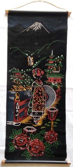 Antiguo Poster Cartel Cuadro Enrrollable Vintage - Oriental