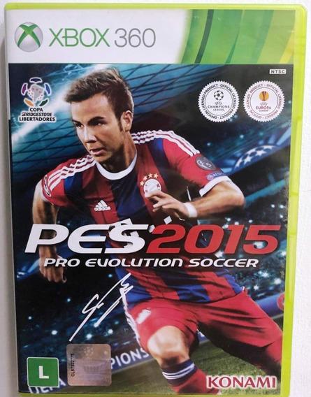 Game Xbox 360 - Pes 2015 - Usado Ótimo