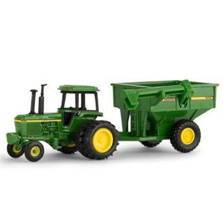 164 John Deere 4430 W Grain Cart Ertl No 45534 Lp53305