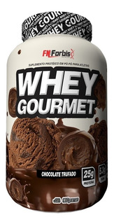 Whey Protein Gourmet Fn Forbis 900g Todos Os Sabores Best