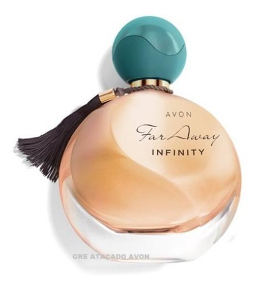 Kit 3 Perfumes:far Away Infinity+glamour+ Luz Dos Olhos Teus