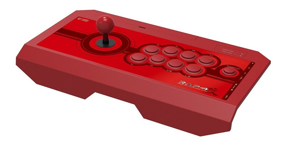Control Hori Real Arcade Pro 4 Kai Playstation 4 Ps3 Pc Red
