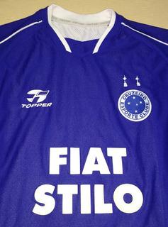 Camiseta Do Cruzeiro Topper Tríplice Coroa 2004 - 03