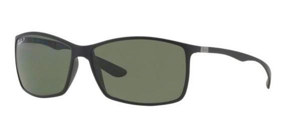 Oculos Sol Ray Ban Rb4179 601s9a Preto Fosc Verde Polarizada
