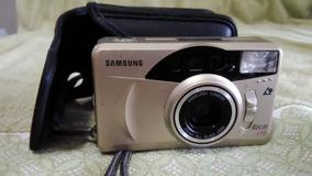 Câmera Samsung Rocas 110 Analógica C/ Zoom No Estado