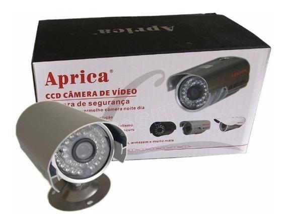 Camera De Segurança Ccd Infra 36 Led Prova Dagua Aprica Hd