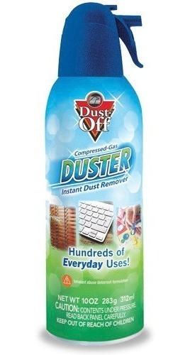 Dust Off - Spray De Ar Comprimido 374ml