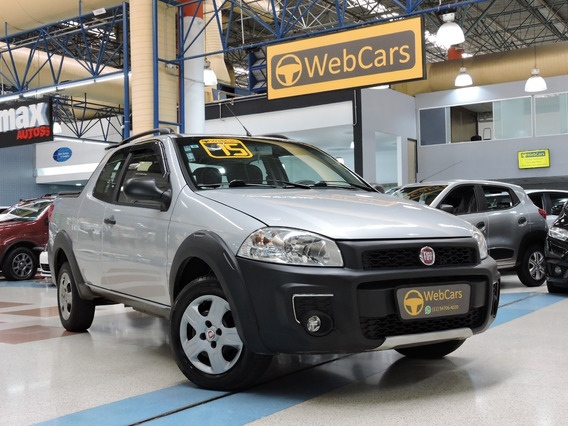 Fiat Strada 1.4 Working Cd Flex 8v - Manual 2015 Único Dono