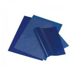 Papel Carbonico Por 10 Hojas Azul O Negro Kangaro Munix