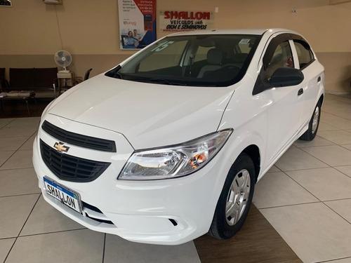 Imagem 1 de 14 de Chevrolet Onix 1.0 Ls 5p 2015/2015 Branco