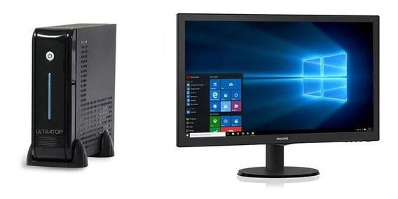 Computador Dual Core J3060 4gb 500g W.10+monitor 193v5lsb2