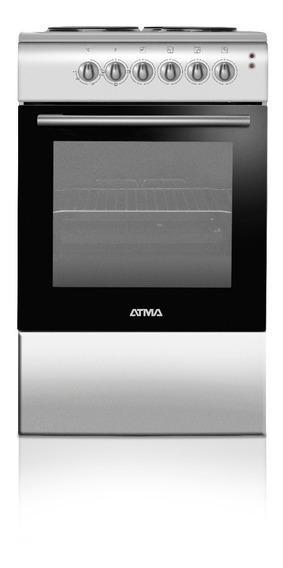 Cocina Electrica Atma Cce3110p Color Plata 50cm Envio Gratis
