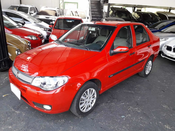 Fiat Siena Fire Celebration 1.0 Flex 2008 Vermelho Completo