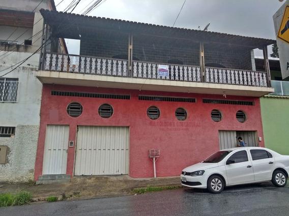 Casa 4 Quartos No Ouro Preto Com Galpão - 576