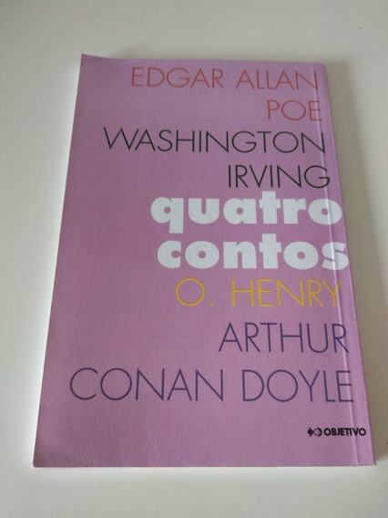 Quatro Contos - Edgar Allan Poe E Outros - Livro