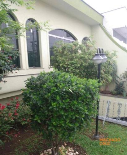 Casa Com 3 Dormitórios À Venda, 266 M² Por R$ 890.000,00 - Santa Maria - Santo André/sp - Ca0002