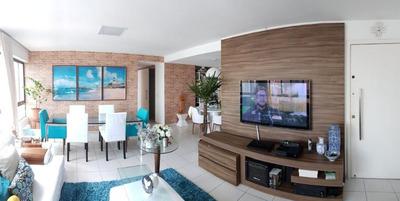Apartamento Em Rosarinho, Recife/pe De 130m² 4 Quartos À Venda Por R$ 795.000,00 - Ap133172