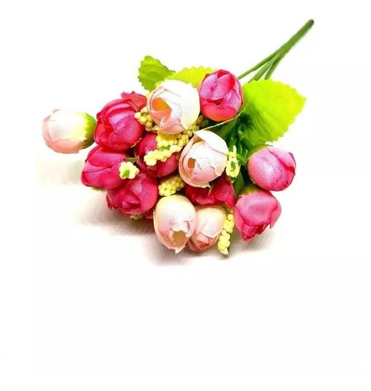 Ramo Rositas Rococco Flor Artificial Mini Rositas