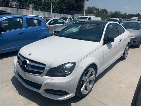 Mercedes Benz 2013 Version C250 Coupe Cgi Color Blanco