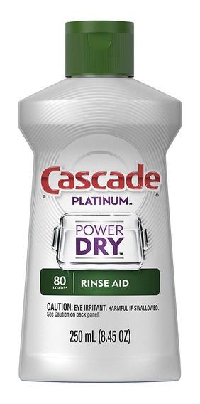 Cascade Rinse Aid Abrillantador Para Lavavajillas 250ml