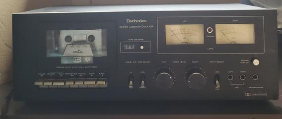 Tape Deck Technics N Polyvox N Gradiente Cassette Deck 614