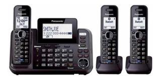 Teléfono Panasonic Kx-tg9541b Link2cell Bluetooth 3 Lineas