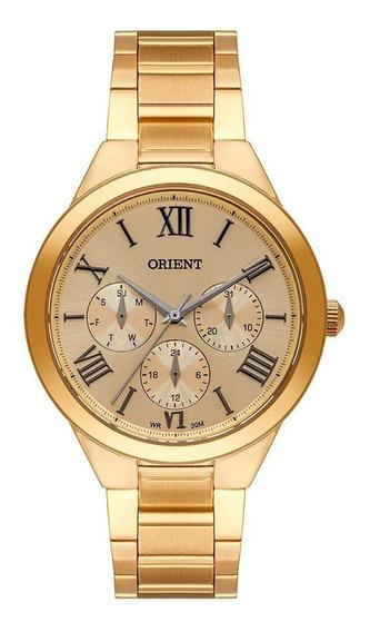 Relógio Feminino Orient Eternal Dourado Fgssm072-c3kx