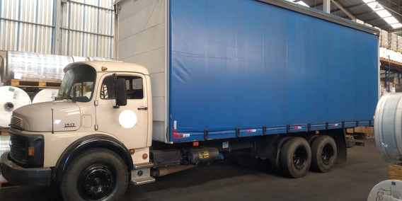 Mb 1517 Truck Bau Saider 1987