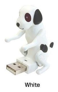 Usb Humping Perro Blanco Por Cubeta, Diseño De Dálmata