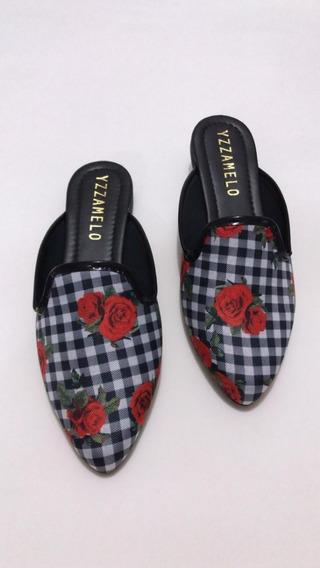 Mule Rasteira Feminino Rasteirinha Sapato Latikas Shoes