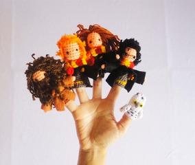 Harry Potter Títeres Dedo Muñeco Peluche Juguete Marioneta