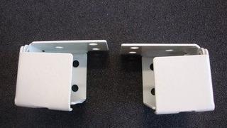 1 Mini Persiana Soporte: Metal (del Cuadro De Estilo) Blanc