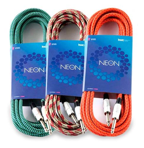 Cable Plug Instrumento Kwc Neon 102 3 Metros Mallado  Oddity