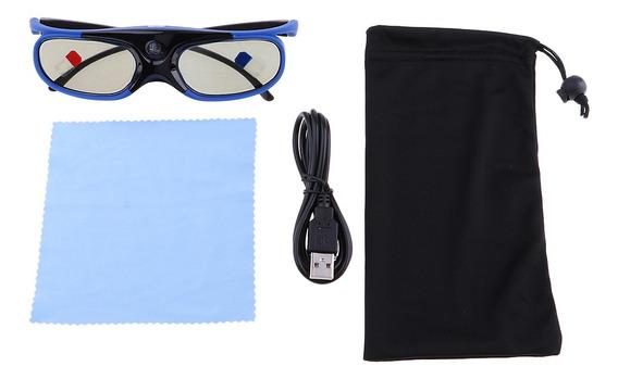 Dlp 3d 96-144hz - Link Active Óculos Jx30- T Azul