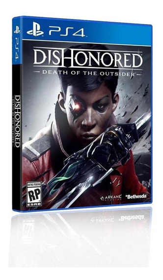 Jogo Game Dishonored Death Of The Outsider - Ps4