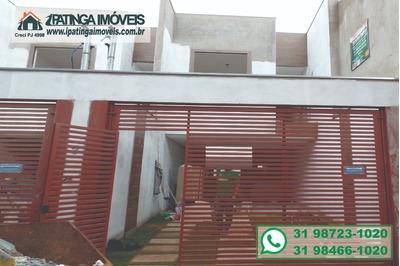 Casa Para Venda, 3 Dormitórios, Jardim Vitória - Santana Do Paraíso - 138