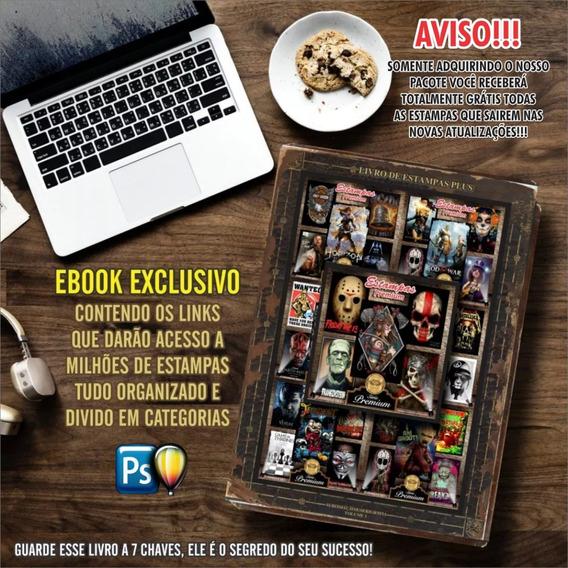 Estampas Camisetas Artes Vetores Sublimação + Pacote Premium